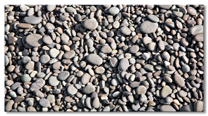 Leinwand bild abstrakt zen kunst stein rund kiesel deko